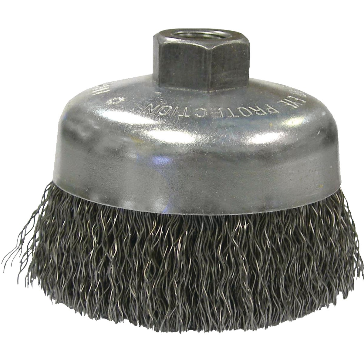 "6"" CRIMPD WIRE CUP BRUSH - 36037 by Weiler Corporation"