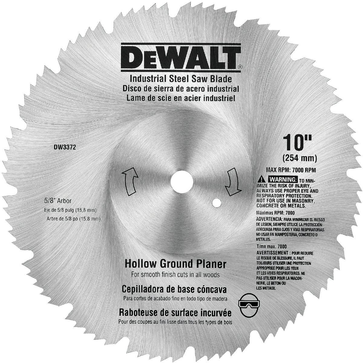 "10"" PLANER BLADE - DW3372 by DeWalt"