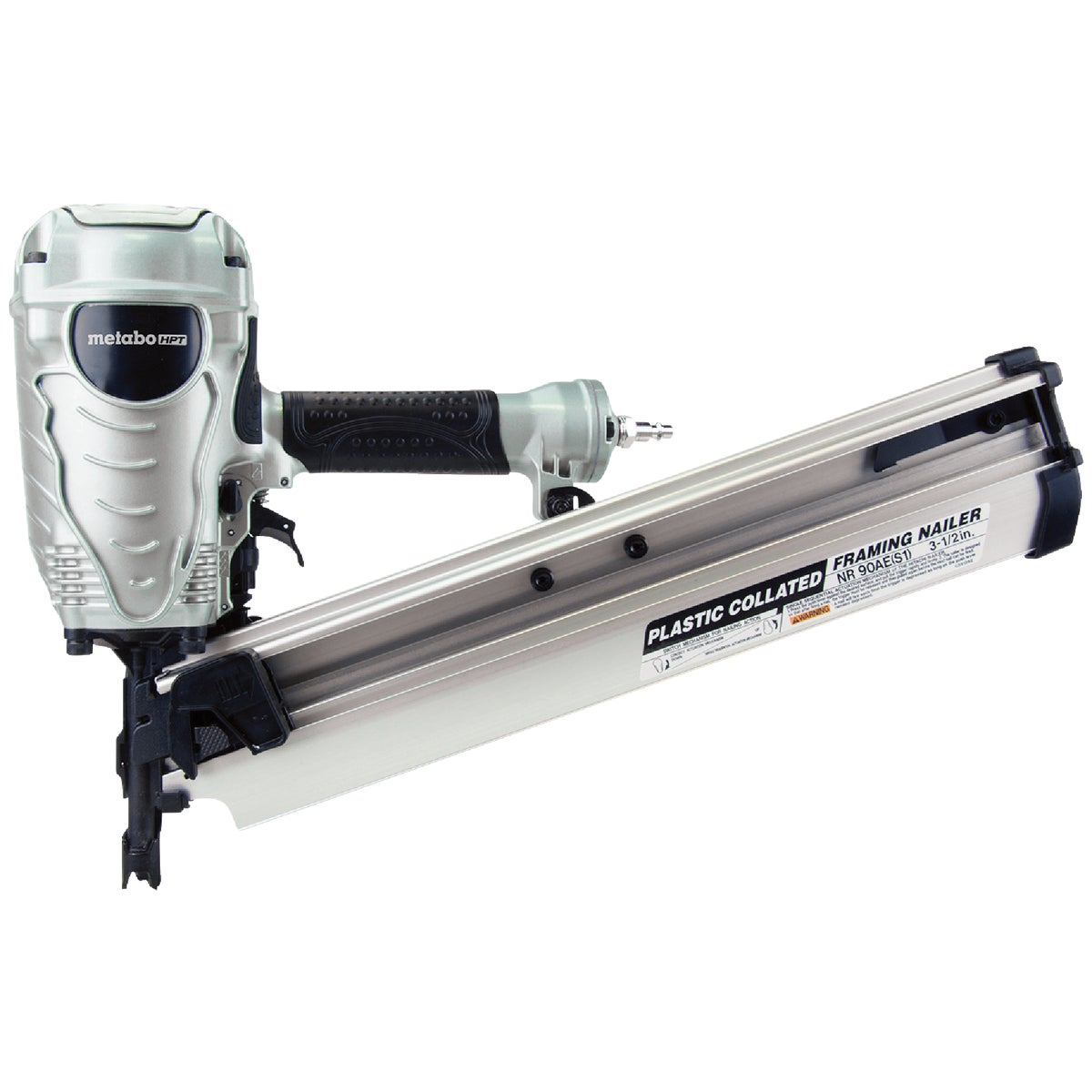 "3-1/2"" RH FRAMING NAILER - NR90AEPR by Hitachi Power Tools"