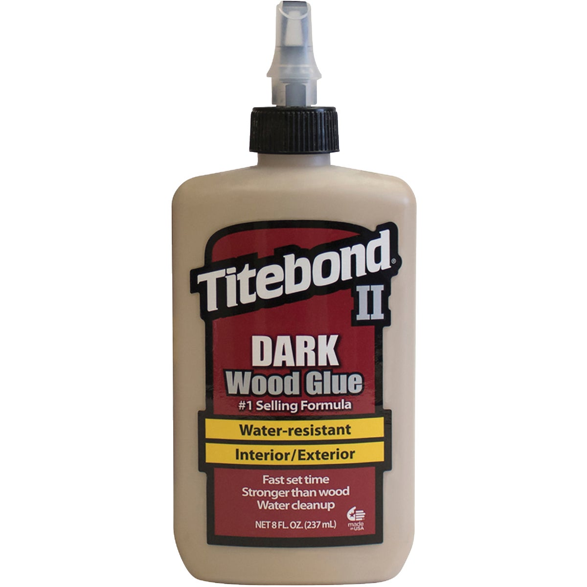8OZ DARK WOOD GLUE - 3703 by Franklin Interl