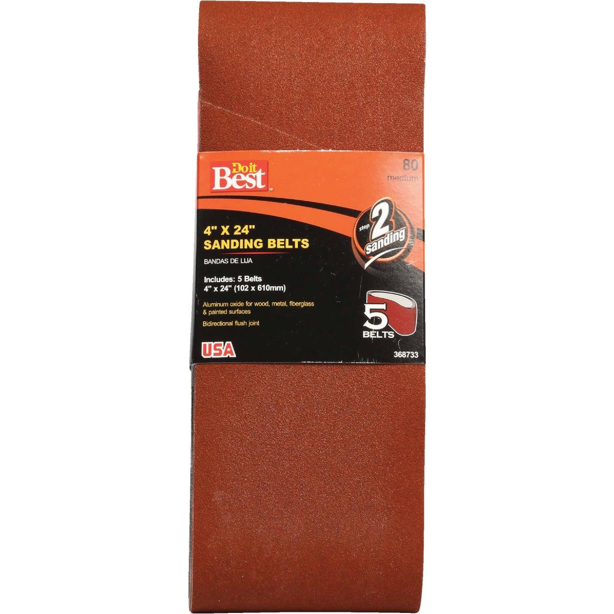 4X24 80X GRIT SAND BELT - 368733 by Ali Industries Inc