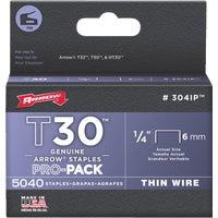 Arrow T30 Thin Wire Staple, 304IP