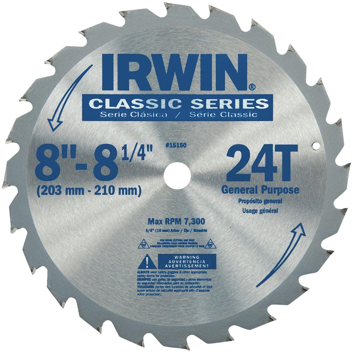 "8"" CIRCULAR BLADE - 15150 by Irwin Industr Tool"
