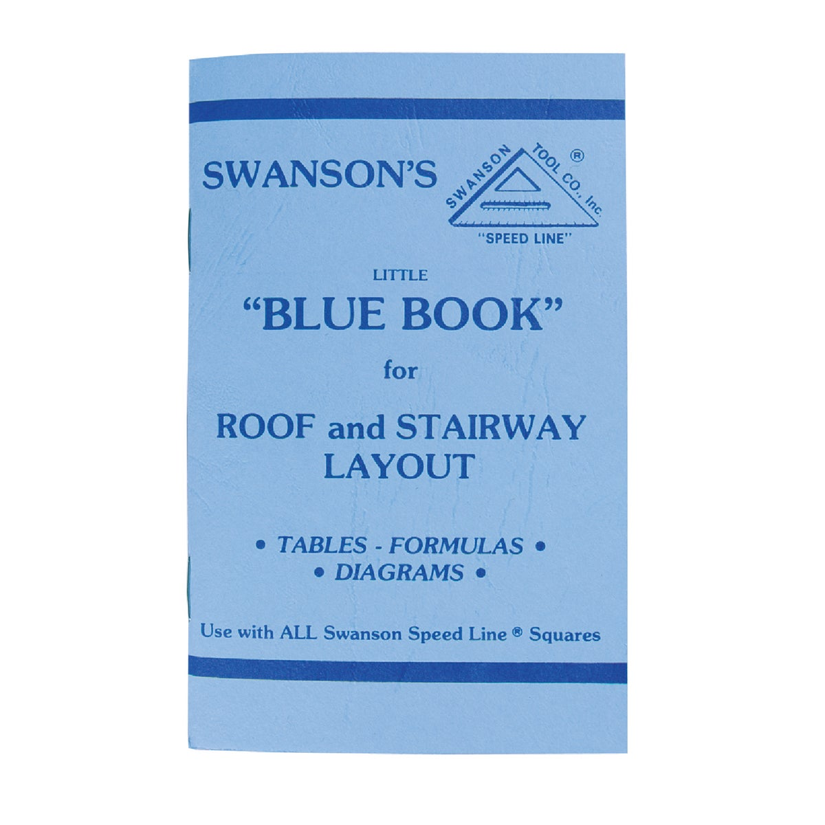 RAFTER SQUARE BOOK - P0110 by Swanson Tool Co