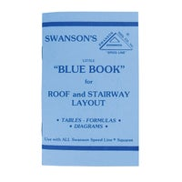 Swanson Tool RAFTER SQUARE BOOK P0110