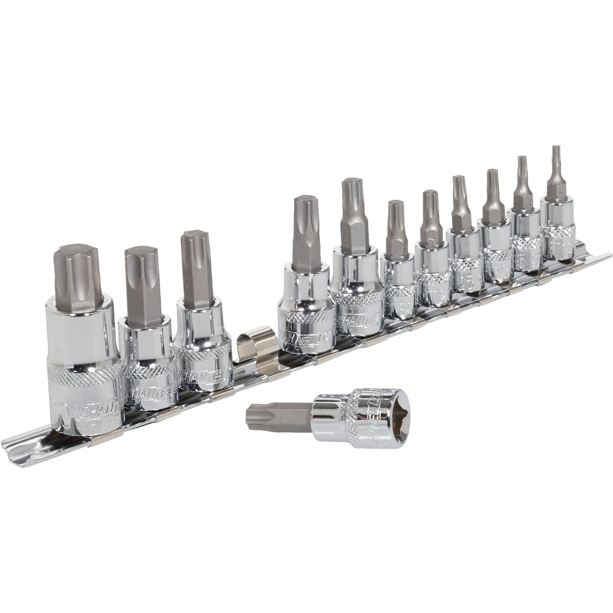 12PC TORX BIT SOCKET SET - 371106 by Bwt Inc