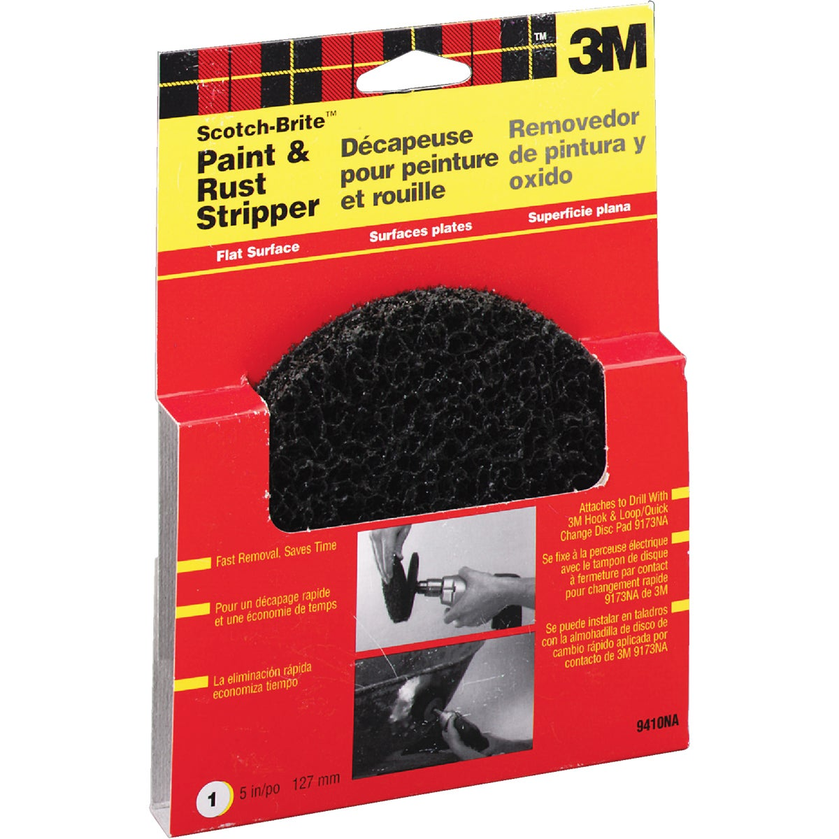 PAINT&RUST STRIPPING PAD - 9410NA by 3m Co