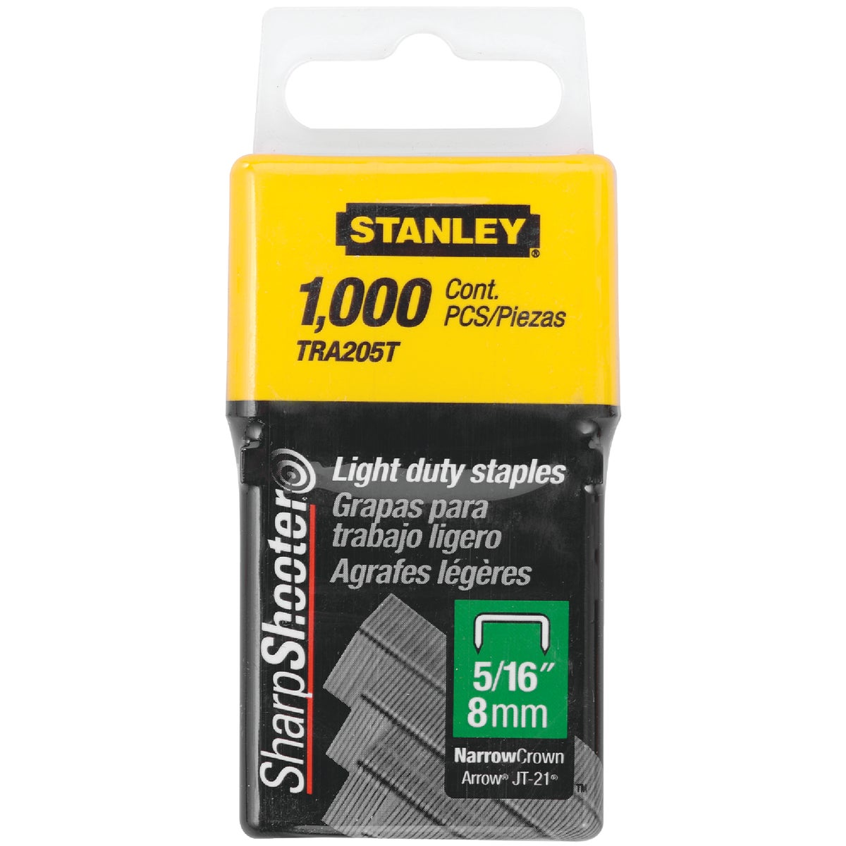 "5/16"" LIGHT DUTY STAPLE - TRA205T by Stanley Tools"