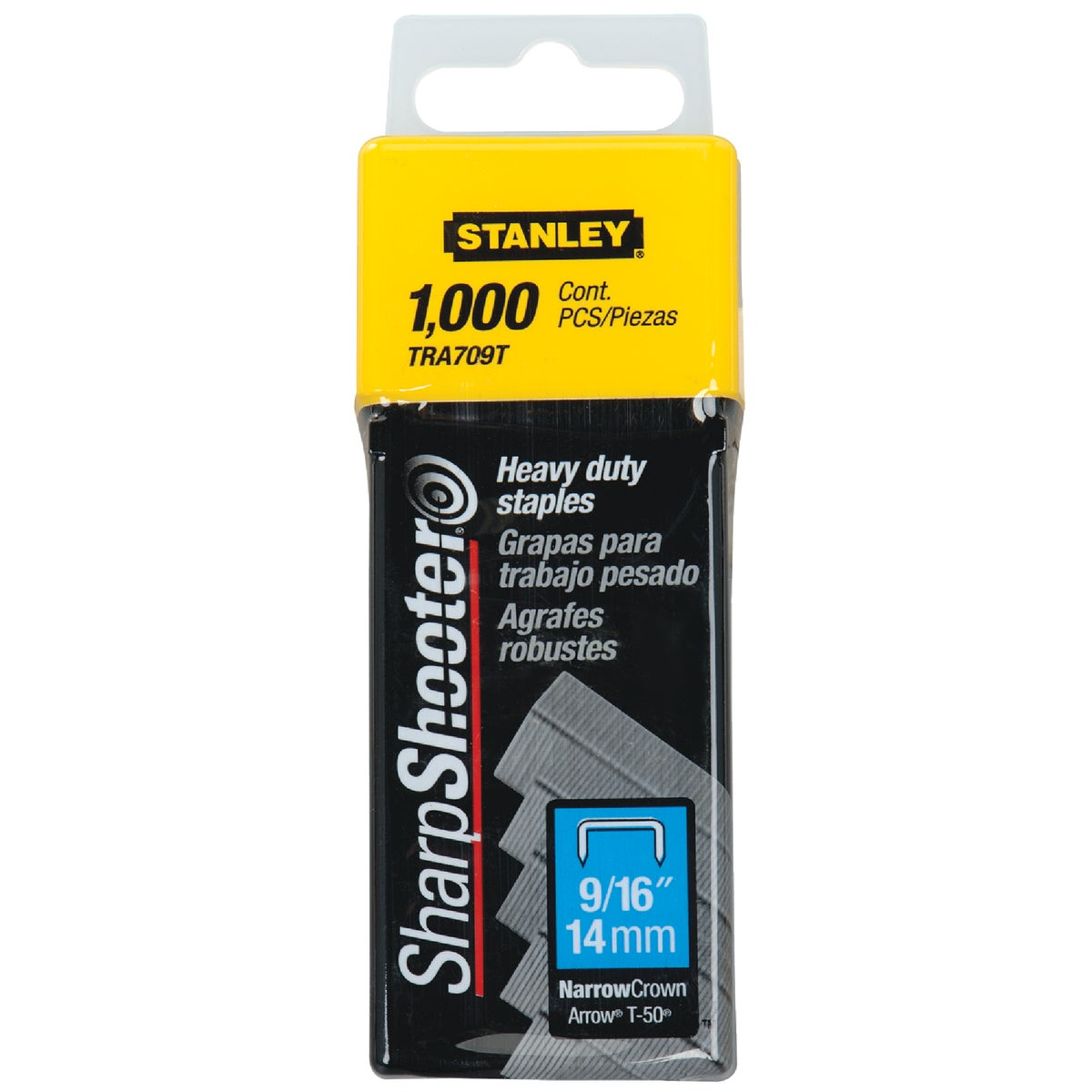 "9/16"" HEAVY DUTY STAPLE - TRA709T by Stanley Tools"
