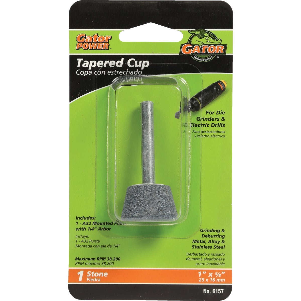TAPER CUP GRINDING STONE