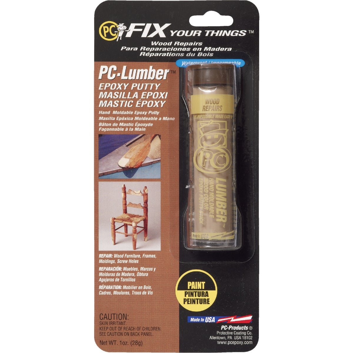 PC-LUMBER EPOXY PUTTY - PC-LUMBER by Protective Coating