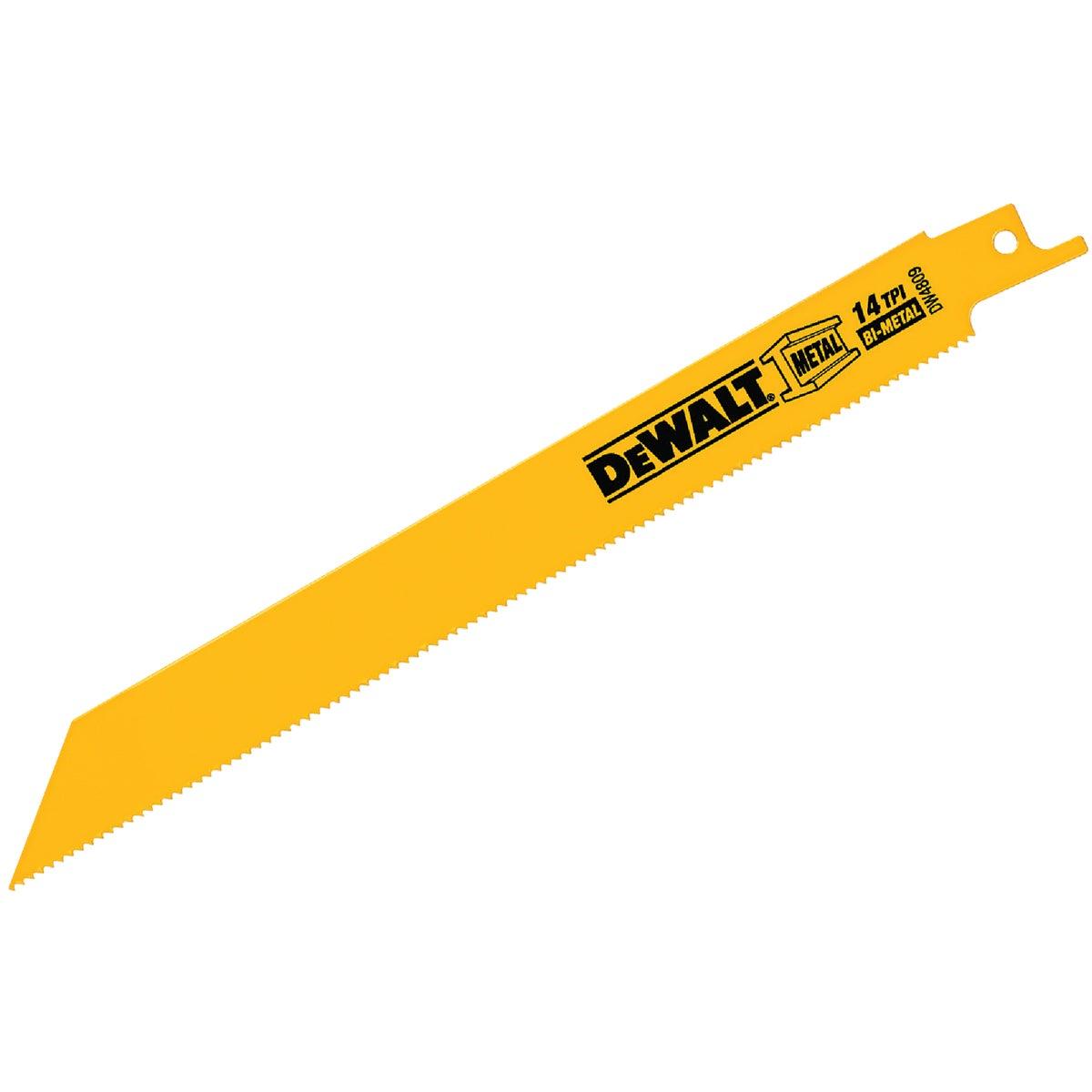 """8"""" 14T RECIP SAW BLADE - DW4809 by DeWalt"""
