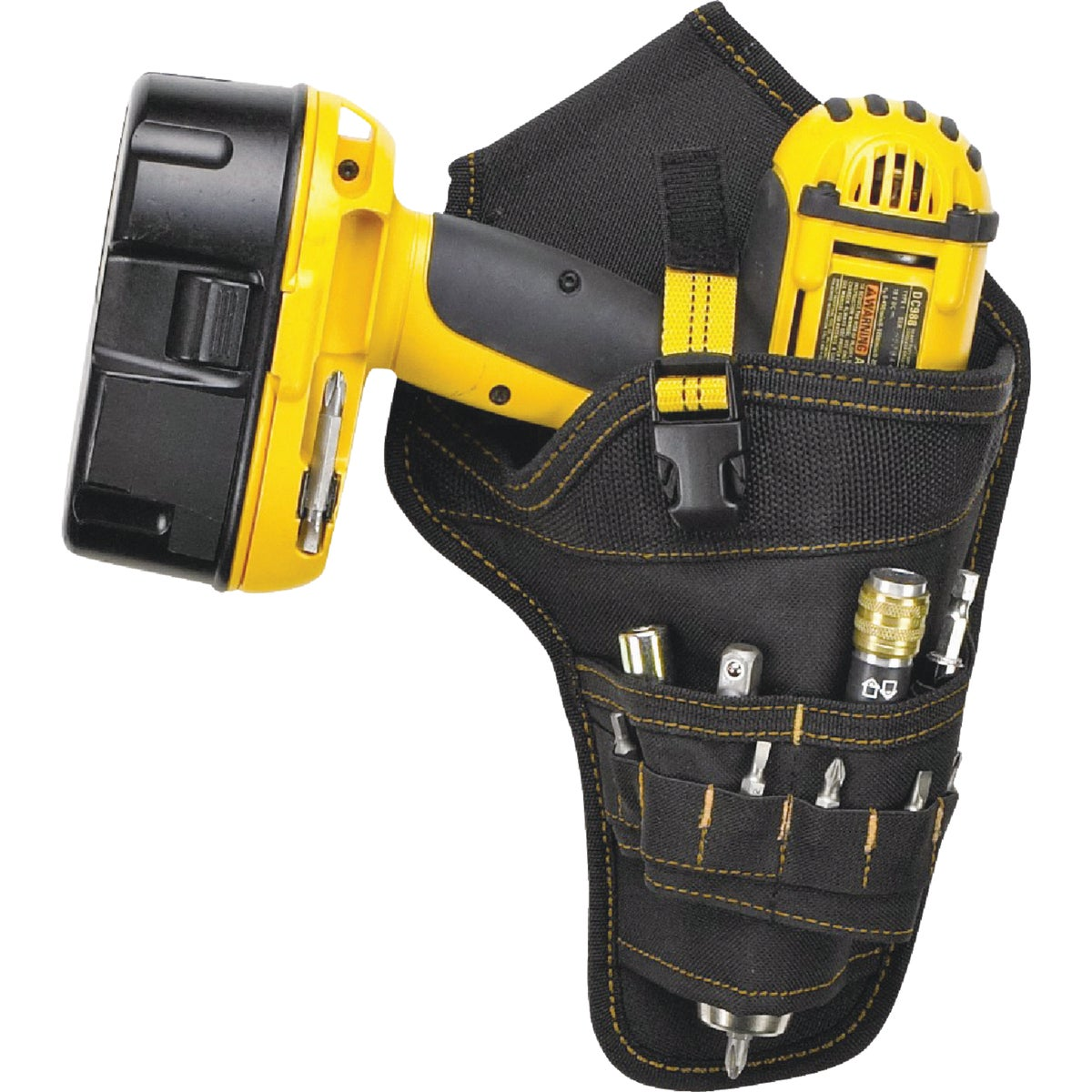 CORDLESS DRILL HOLSTER - 5023 by Custom Leathercraft