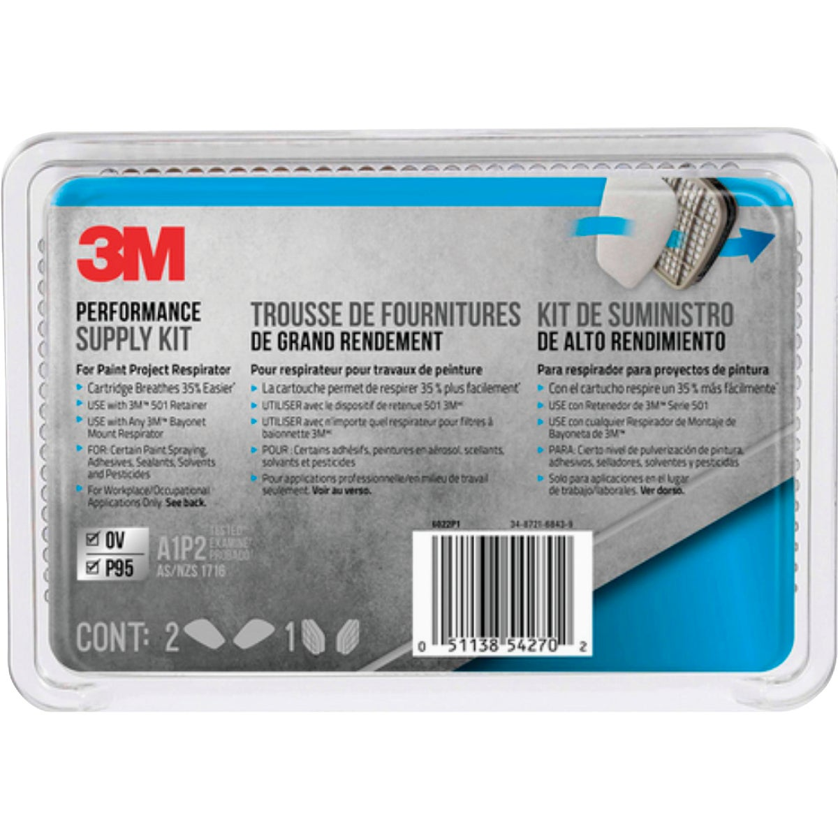 FILTER CARTRIDGE - 6022PA1-A by 3m Co