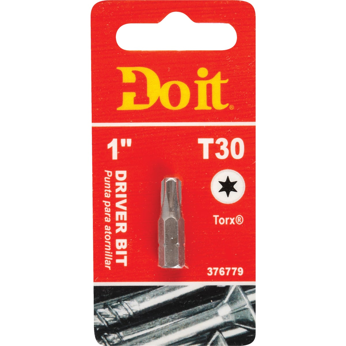 "#30 1"" TORX INSERT BIT - 307751DB by Mibro/gs"