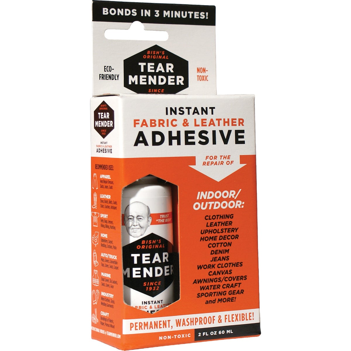 2OZ TEAR MENDER CEMENT