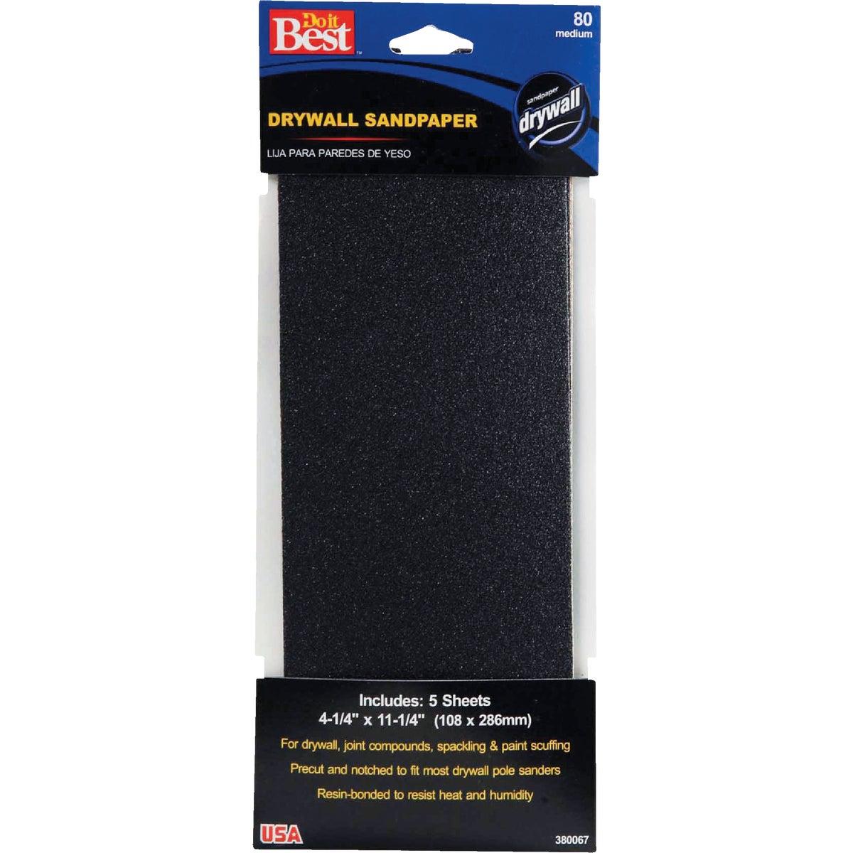 80G Drywall Sandpaper
