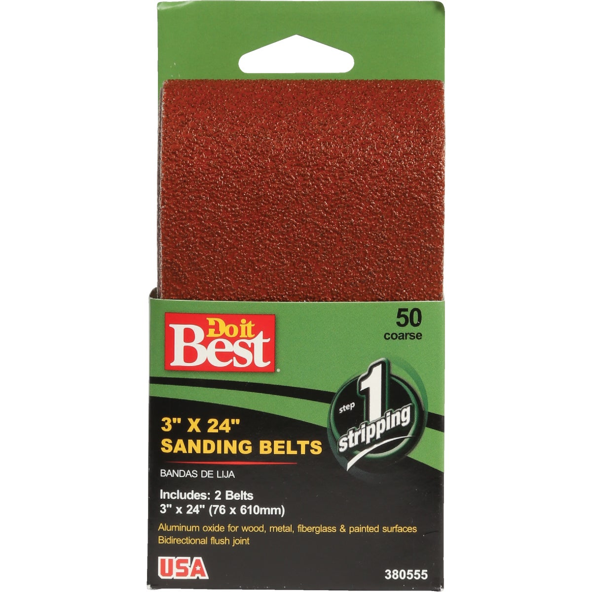 3X24 80G SANDING BELT - 380547 by Ali Industries Inc