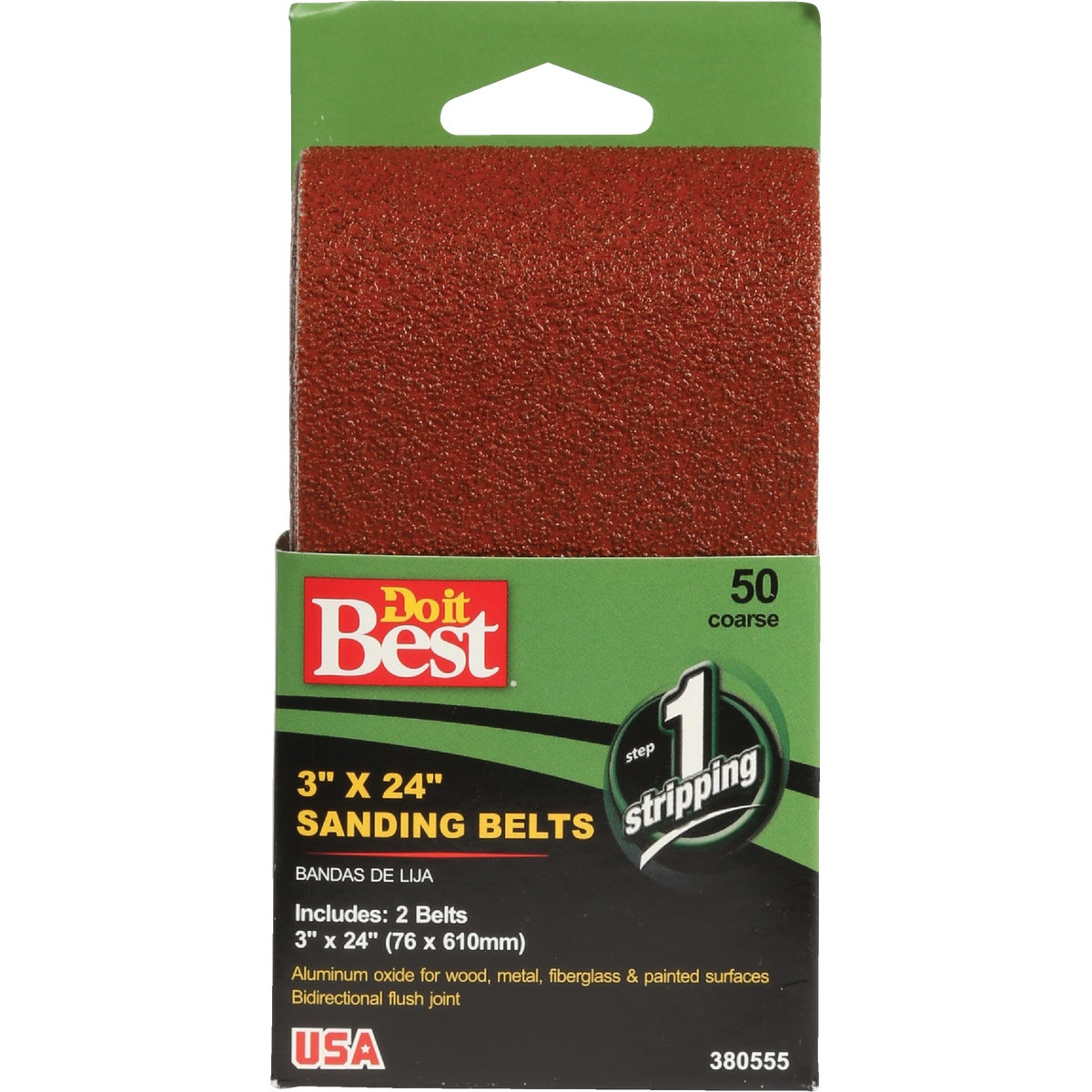 3X24 50G SANDING BELT - 380555 by Ali Industries Inc