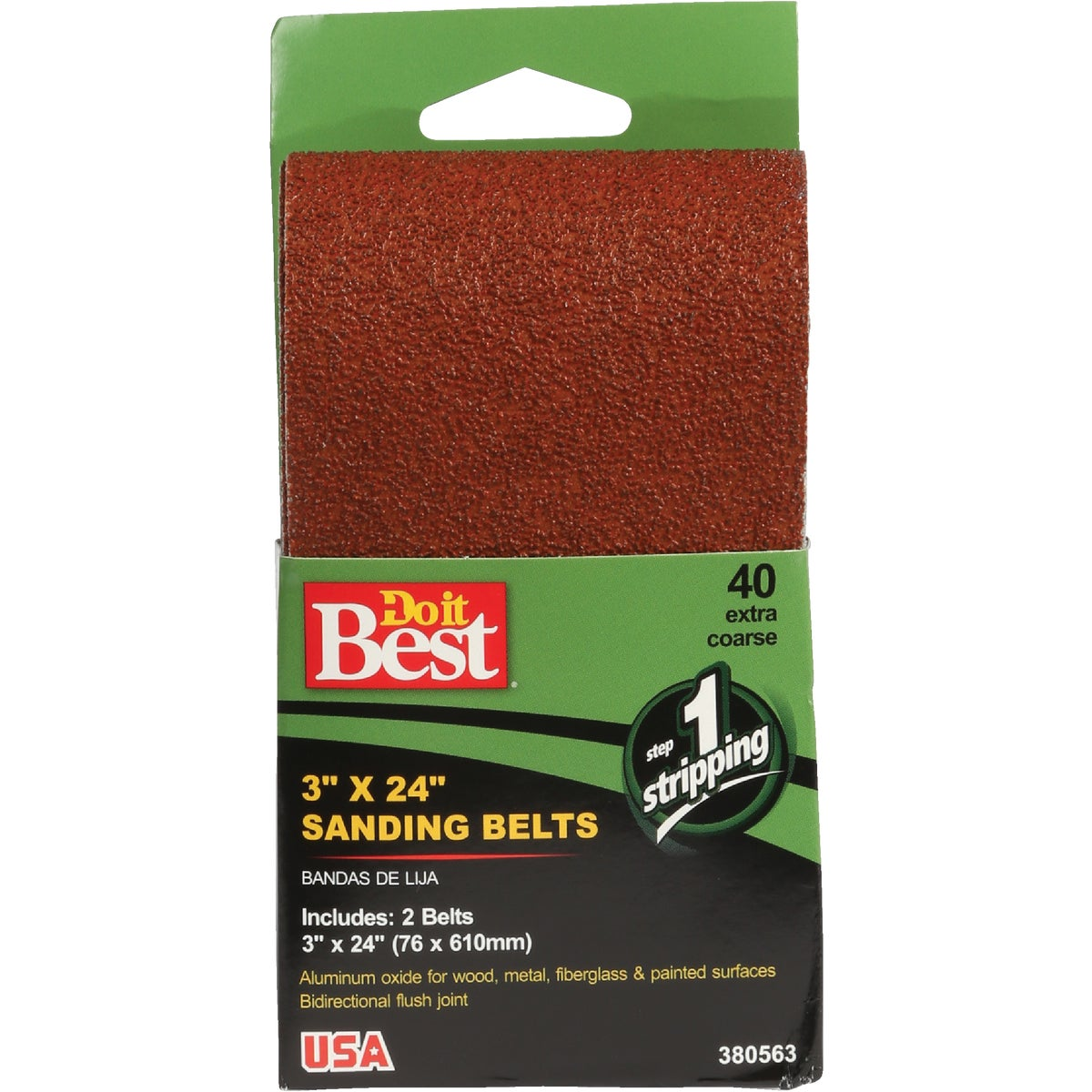 3X24 40G SANDING BELT - 380563 by Ali Industries Inc