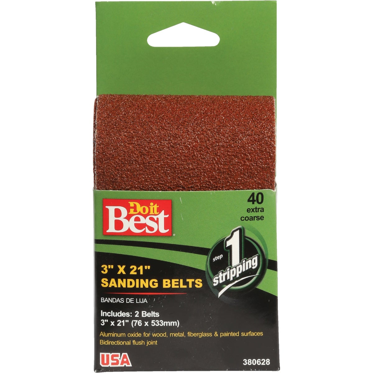 3X21 40G SANDING BELT - 380628 by Ali Industries Inc