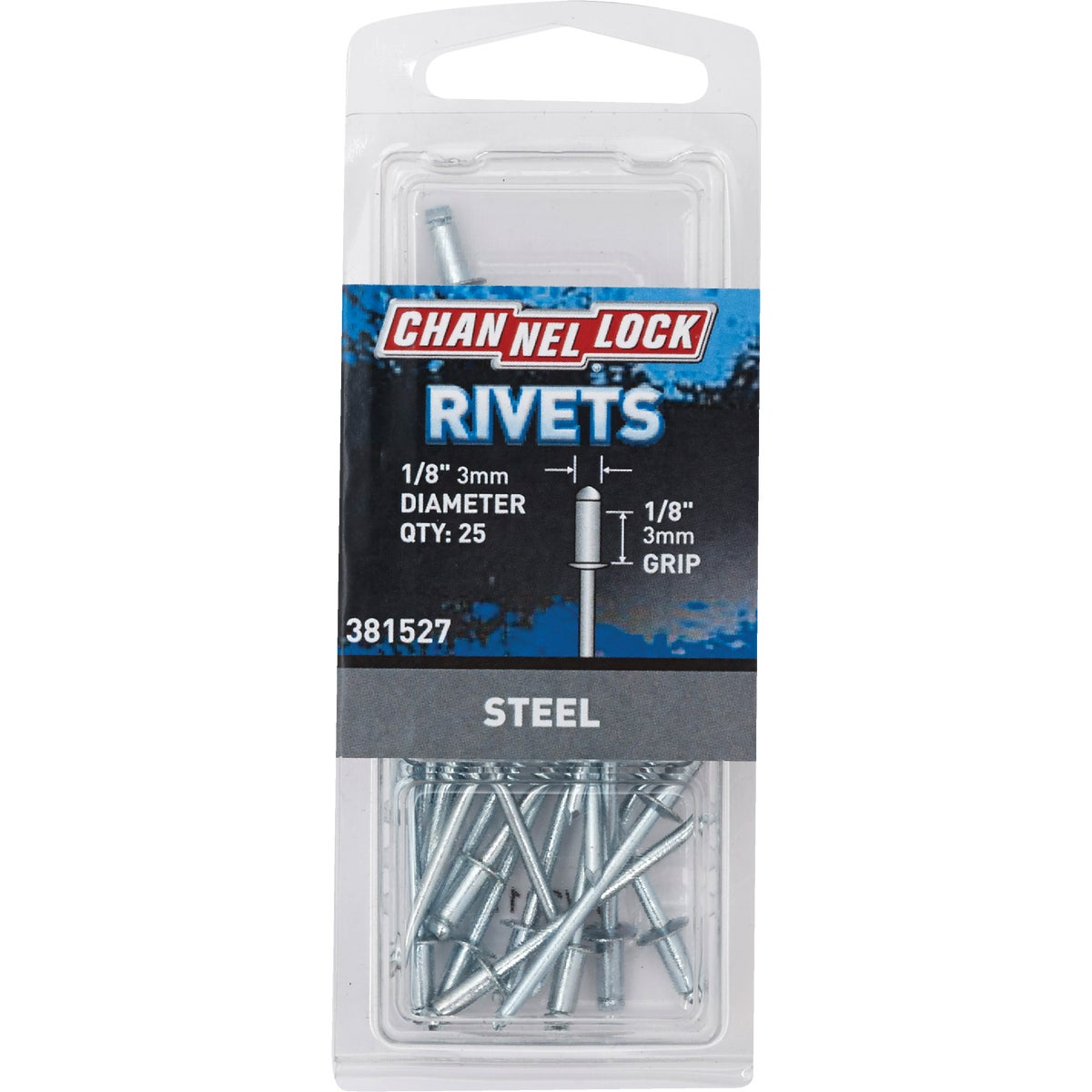 1/8X1/8 STL RIVET - 381527 by Do it Best