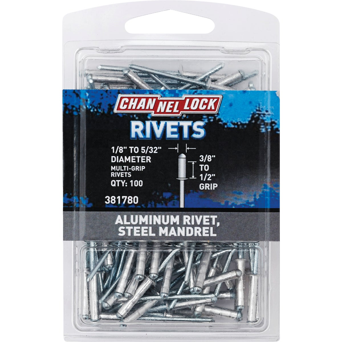 "1/8"" MULTI ALUM RIVET - 381780 by Do it Best"