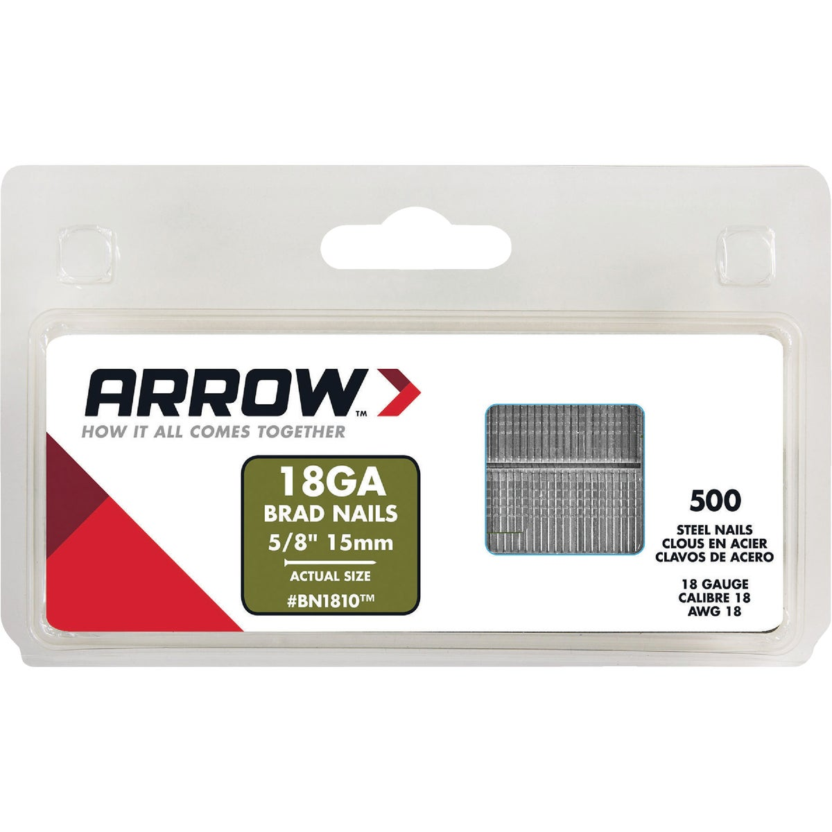 "5/8"" BRAD - BN1810CS by Arrow Fastener Co"