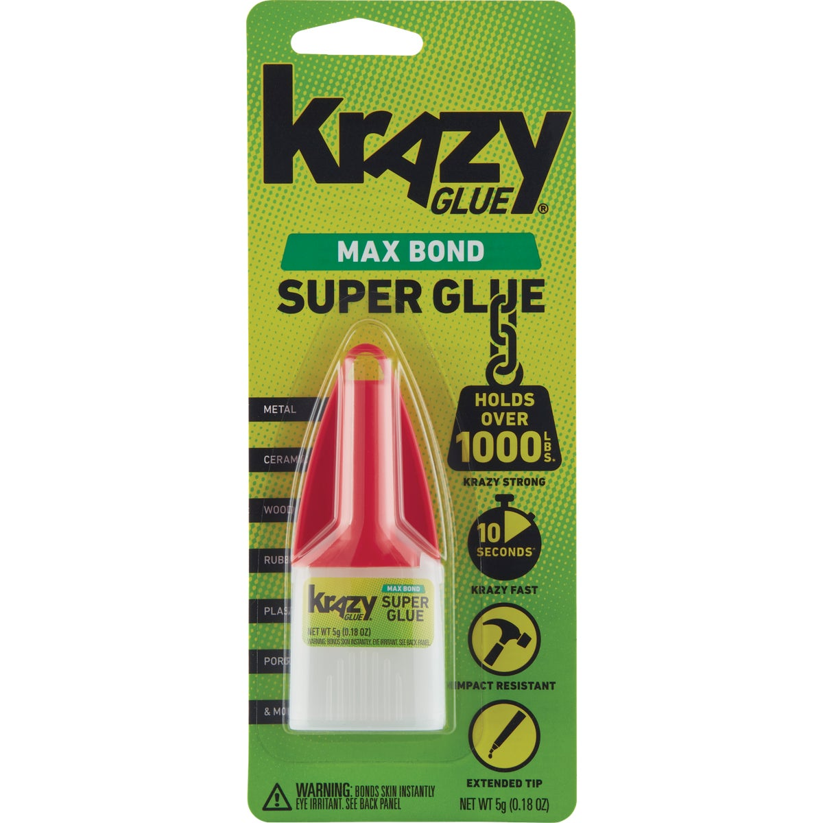 5GM ADVANCE KRAZY GLUE - KG48348MR by Elmers Products Inc