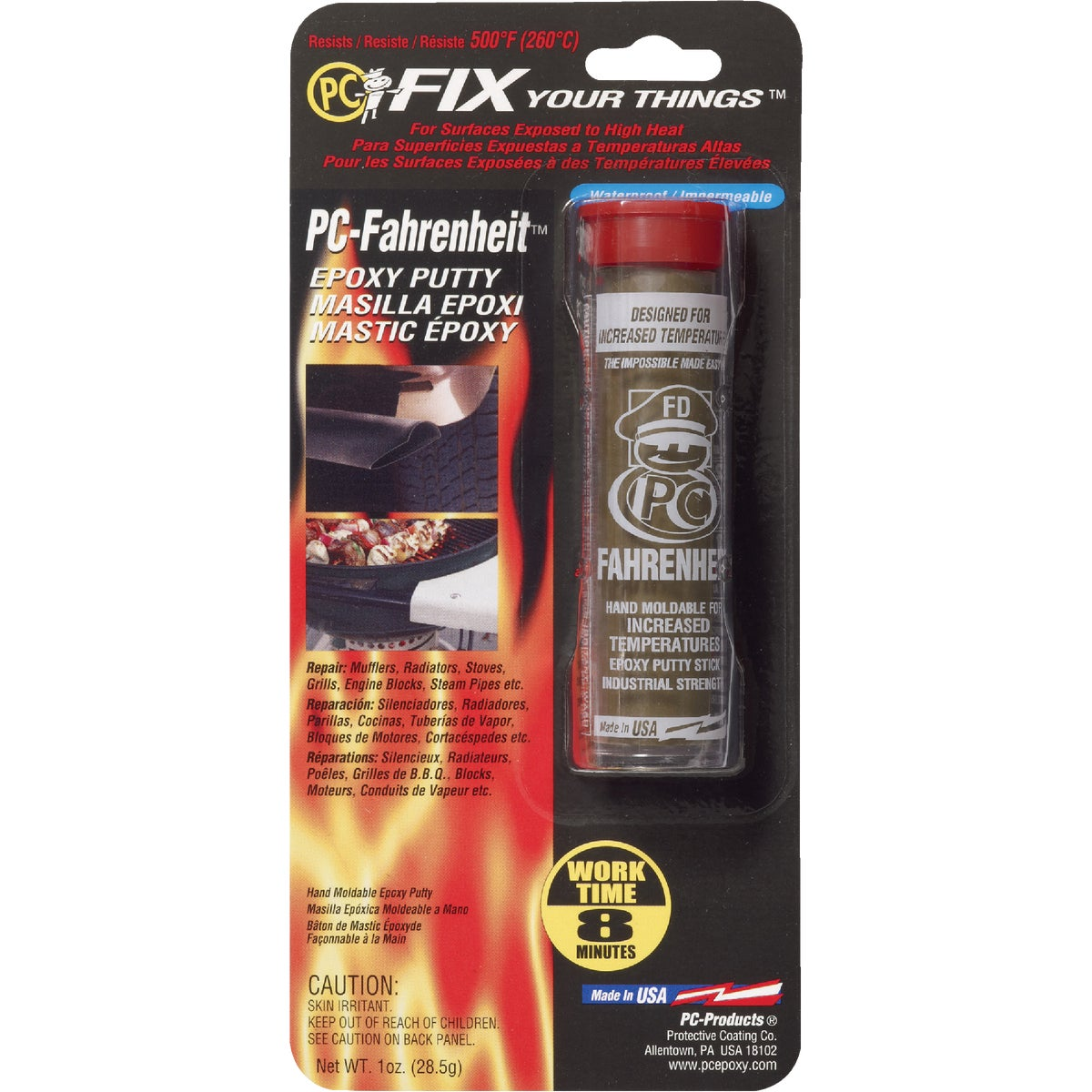PC-FAHRENHIT EPOXY PUTTY - PC-FAHRENHEIT by Protective Coating