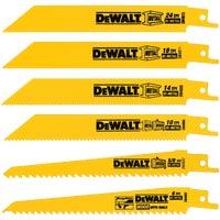 Black & Decker/DWLT 6PC RECIP BLADE SET DW4856