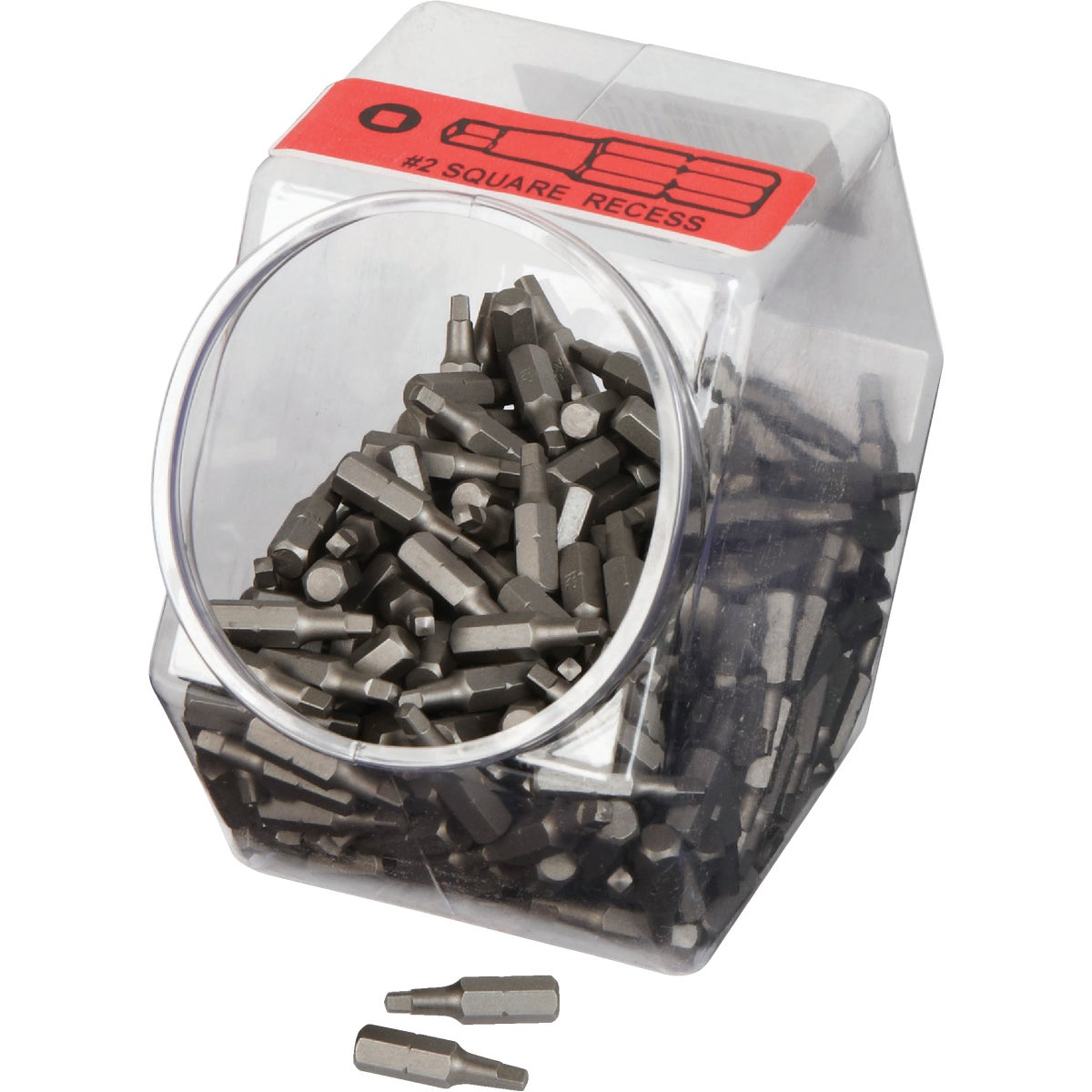 #2 Sq Recess Screw Bits