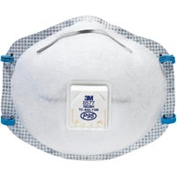 3M Particulate Respirator with Nuisance Level Organic Vapor Relief, 8577