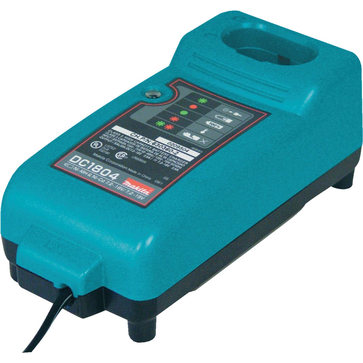 7.2-18 VOLT CHARGER - DC1804 by Makita Usa Accessory