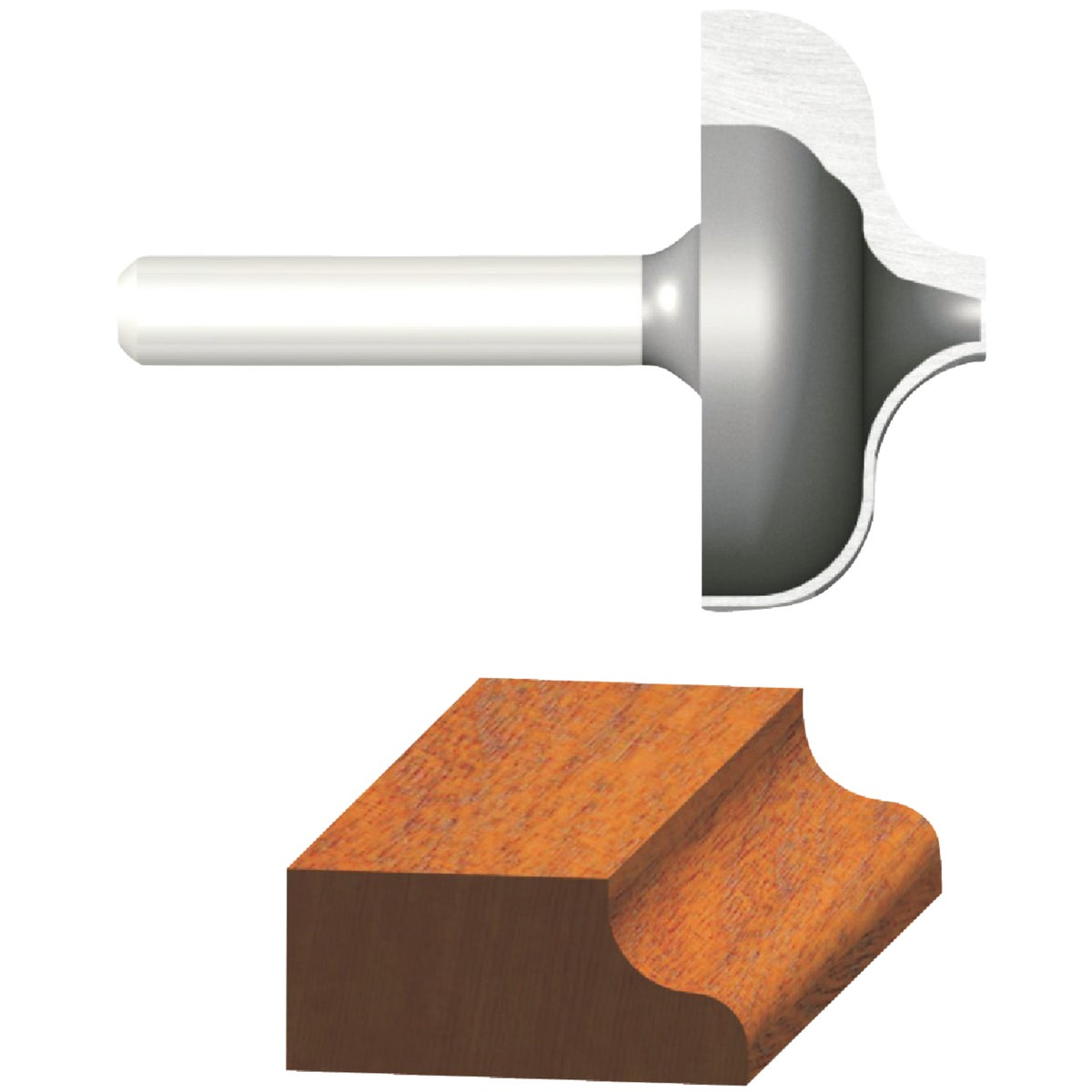 """1/4"""" OGEE ROUTER BIT"""