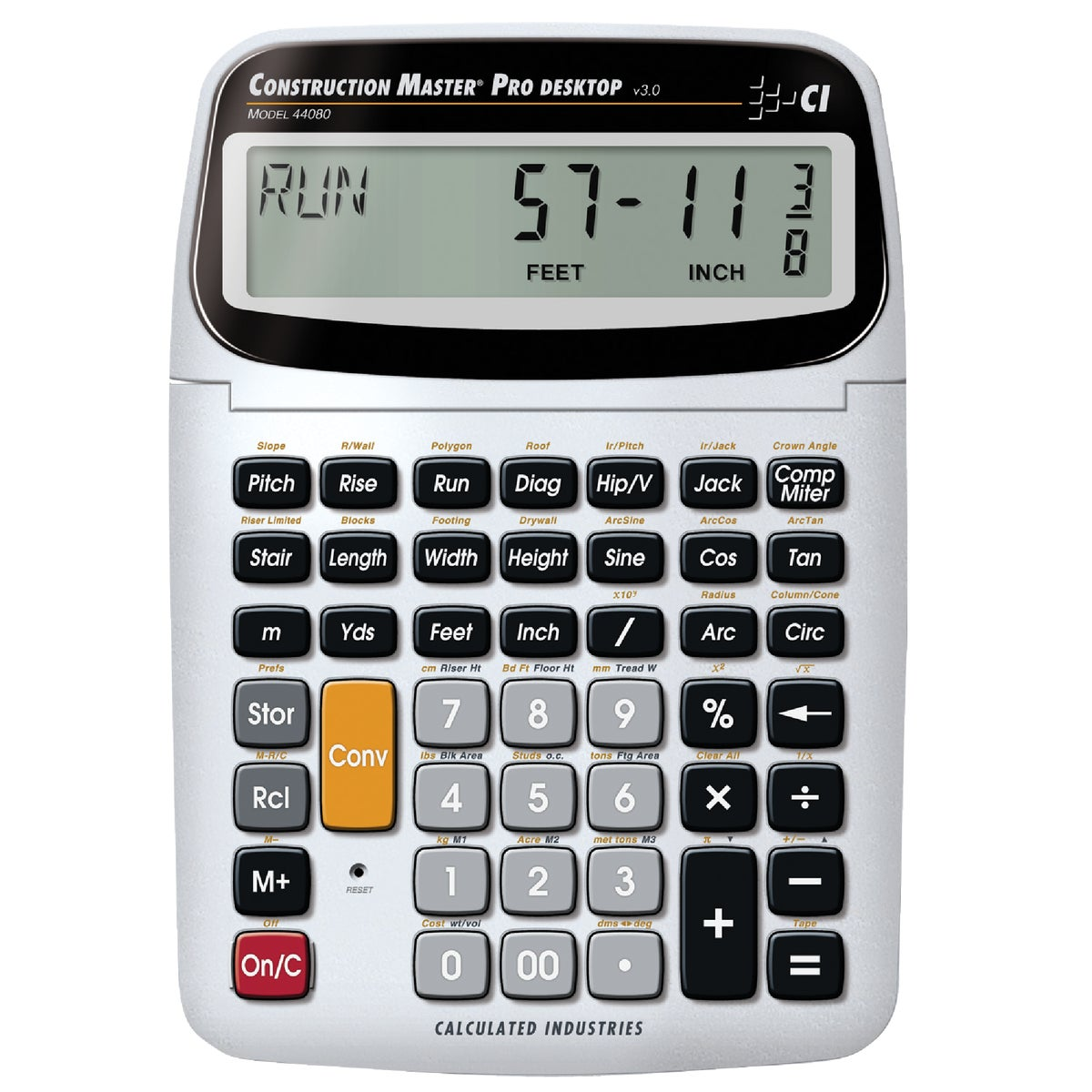 DT CONSTRUCTN CALCULATOR - 44080 by Calculated Ind