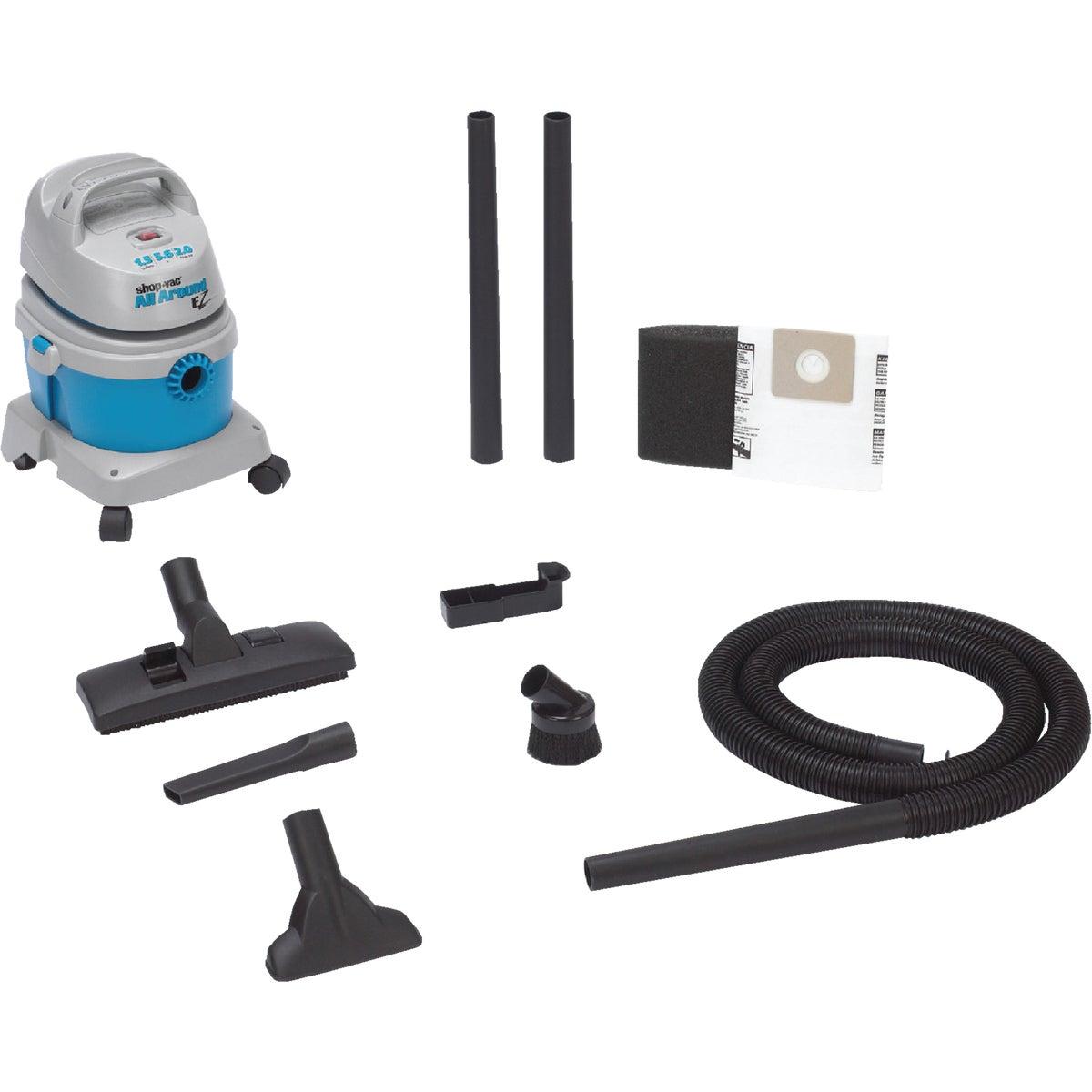 Shop Vac All Around EZ 1.5 Gal. Wet/Dry Vacuum, 5895100
