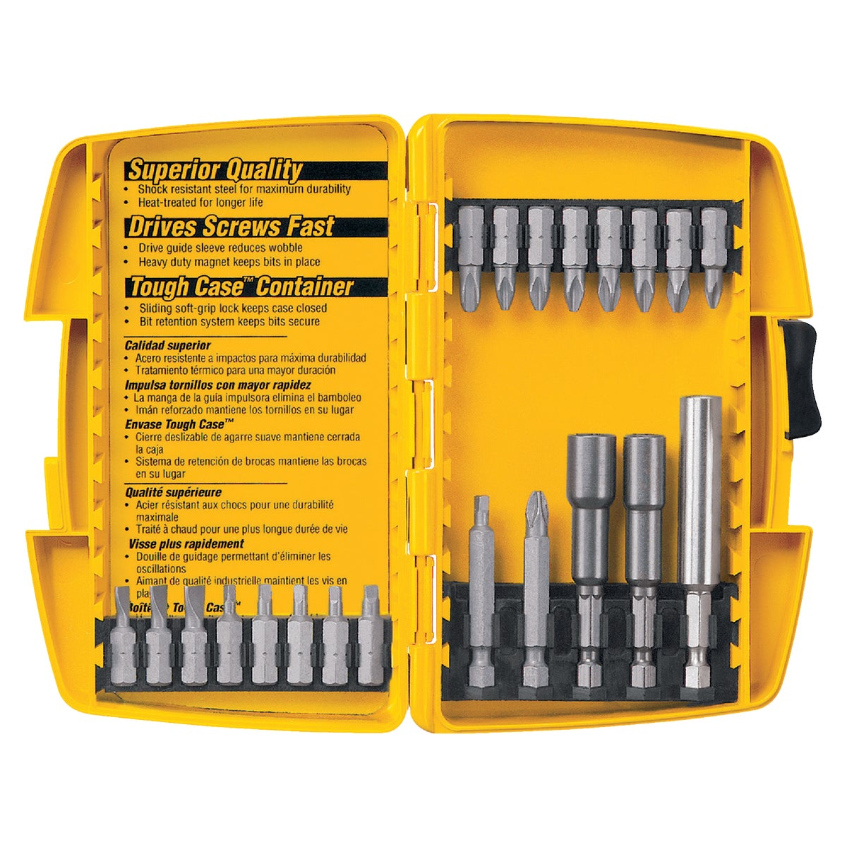 22PC DRYWALL BIT SET - DW2161 by DeWalt