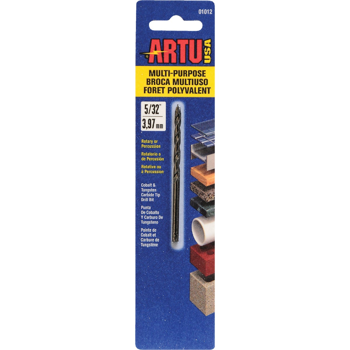 "5/32"" MULTIPURPOSE BIT - 01012 by Artu Usa Inc"