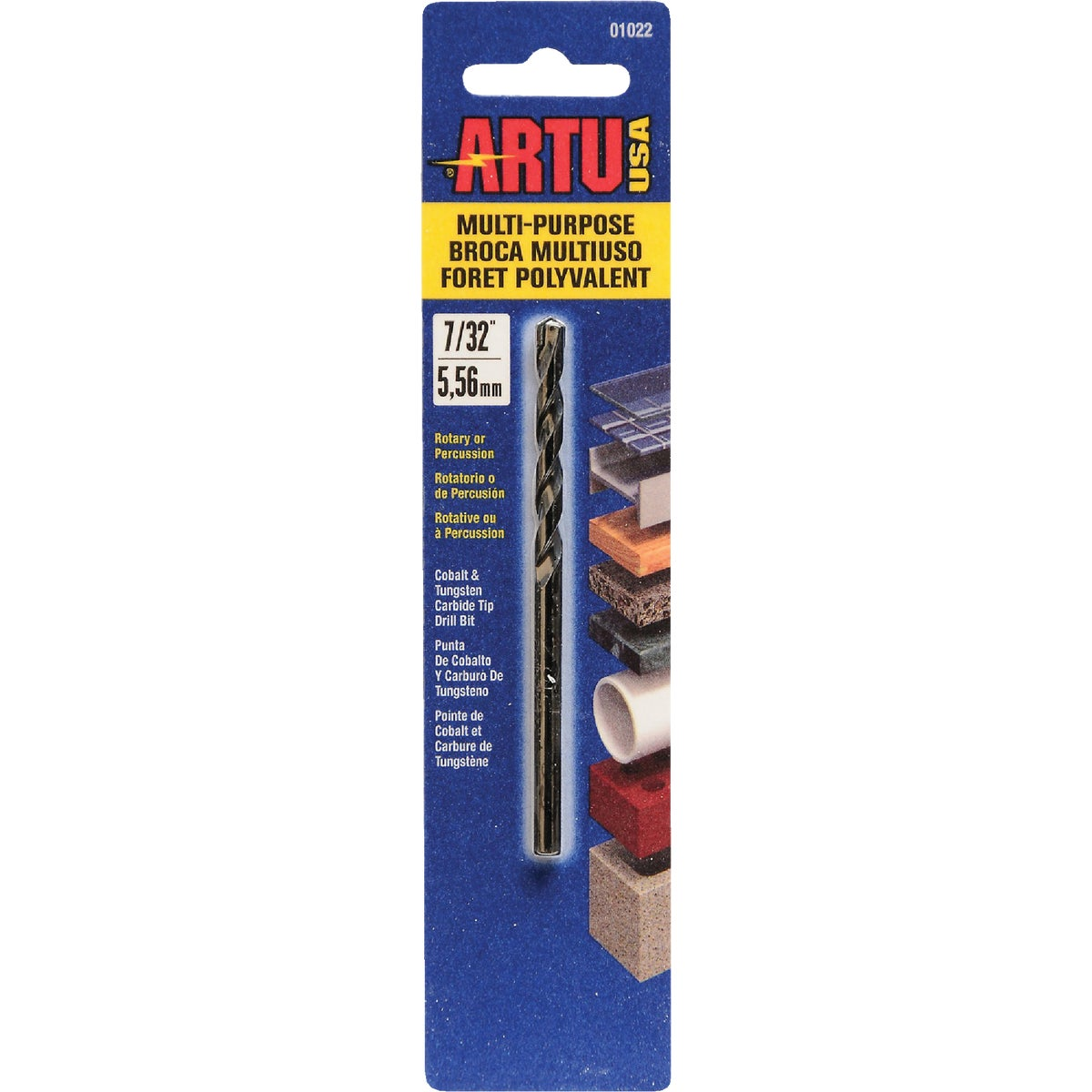 "7/32"" MULTIPURPOSE BIT - 01022 by Artu Usa Inc"
