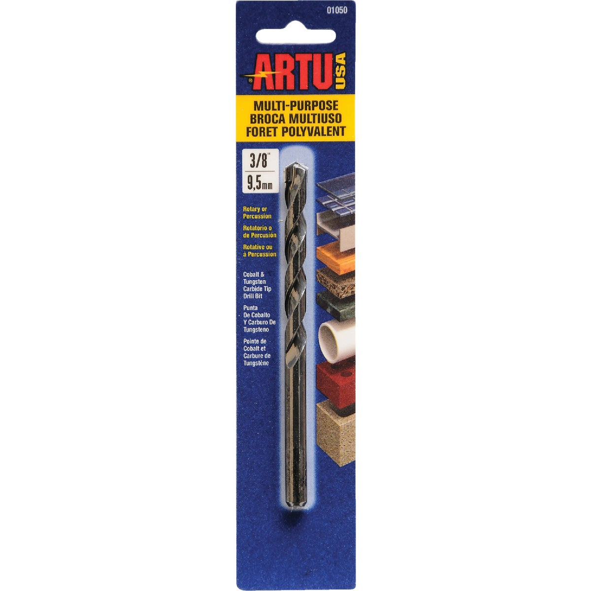 "3/8"" MULTIPURPOSE BIT - 01050 by Artu Usa Inc"