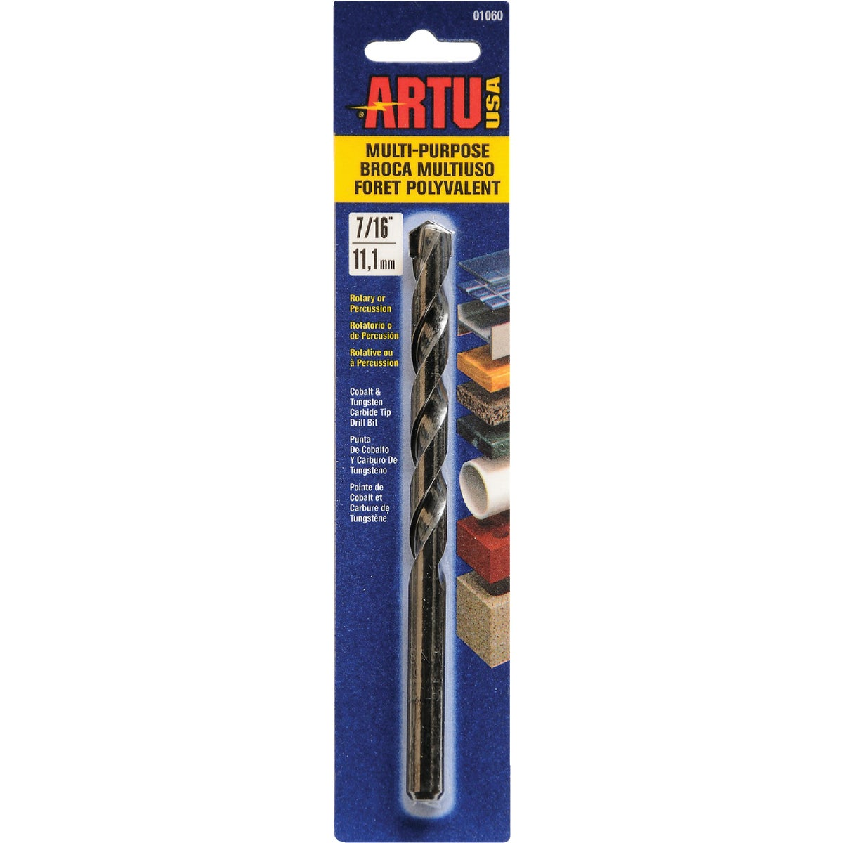 "7/16"" MULTIPURPOSE BIT - 01060 by Artu Usa Inc"