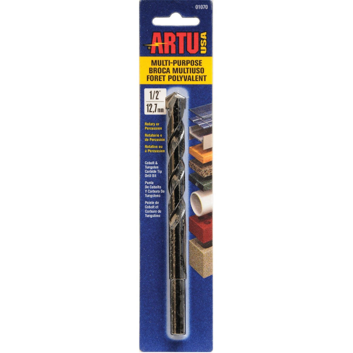 "1/2"" MULTIPURPOSE BIT - 01070 by Artu Usa Inc"