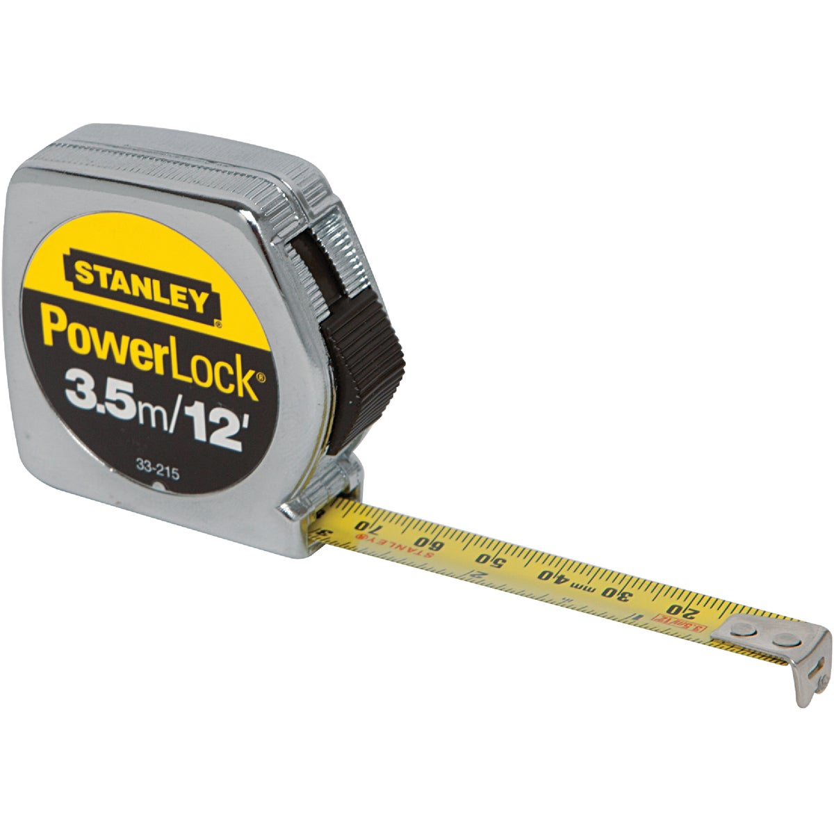 "1/2""X3.5M MTRC TAPE RULE - 33-215 by Stanley Tools"