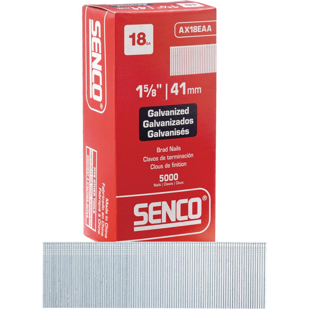 "1-5/8"" 18GA BRAD - AX18EAA by Senco Brands"