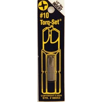 Best Way Tools #10 TORQ SECURITY BIT 88053