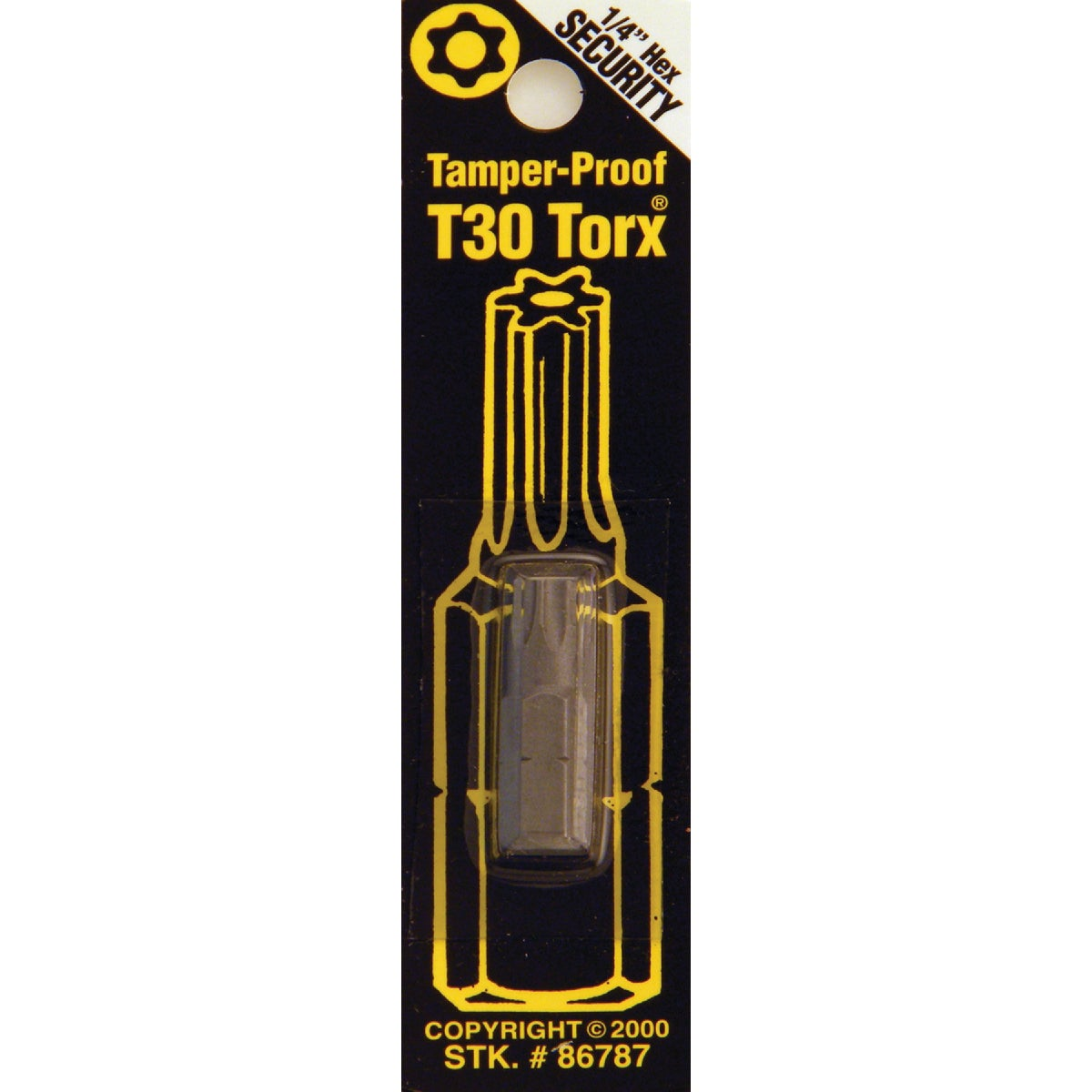 T30 TMPR SECURITY BIT - 86787 by Bwt Inc