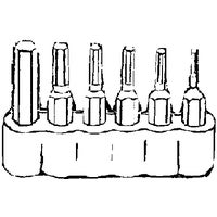 Best Way Tools 6-Piece Hex Metric Insert Screwdriver Bit Set, 86420
