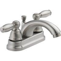 2H Bn Lav Faucet W/Popup