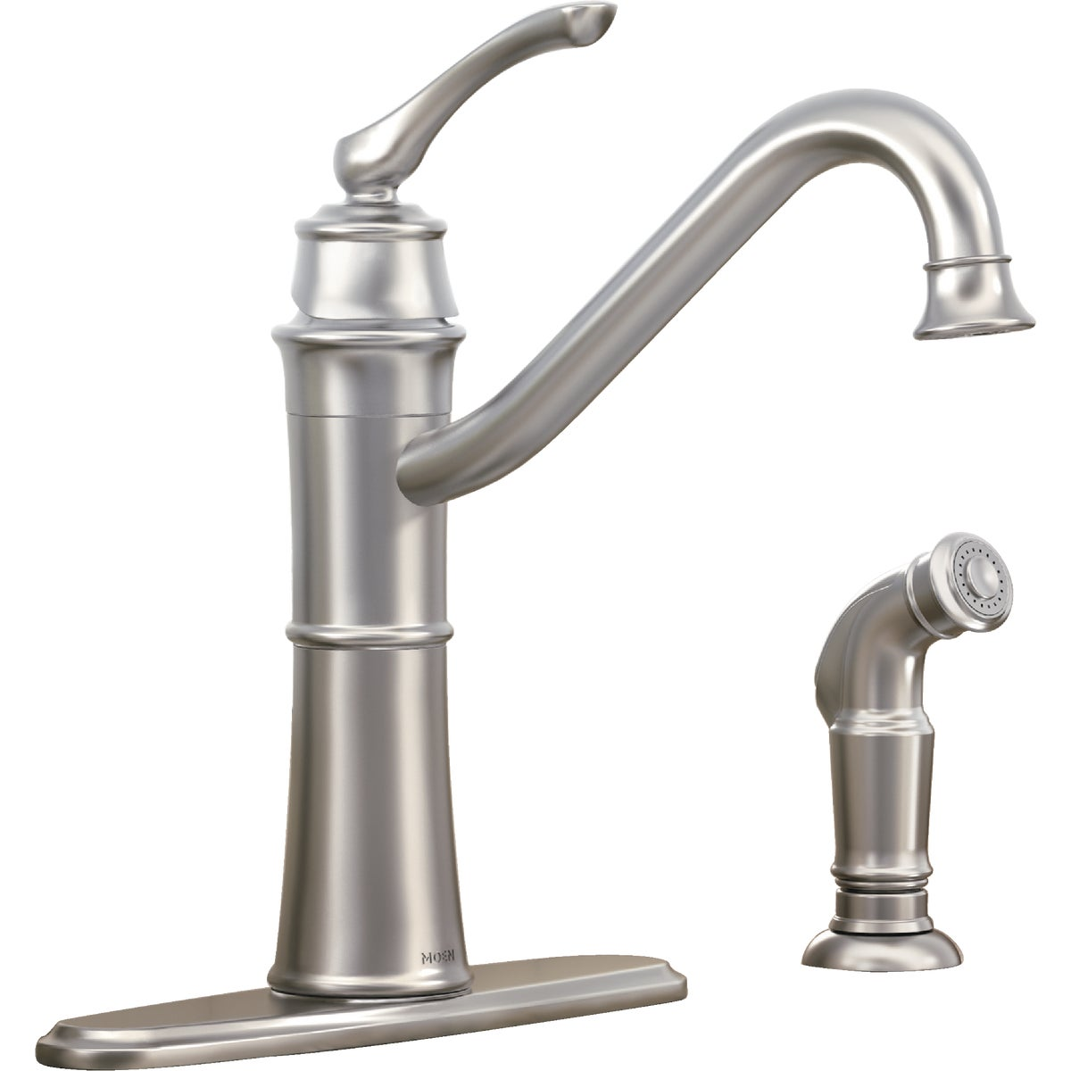 1H SRS KT FAUCET W/SPRAY - 87999SRS by Moen Inc